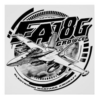 EA-18G Growler Poster Poster