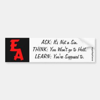 EA Bumper Sticker 04