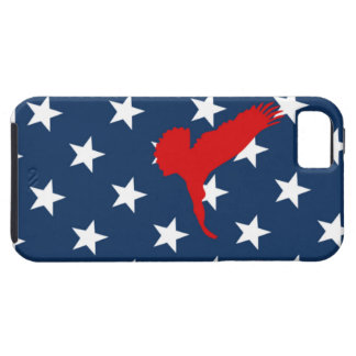 Eagal and American flag stars smartphone case Case For The iPhone 5