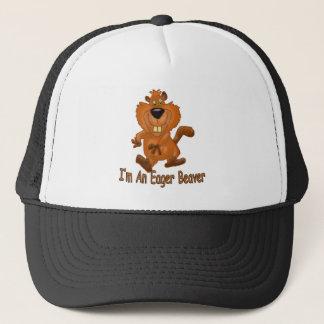 Eager Beaver Trucker Hat