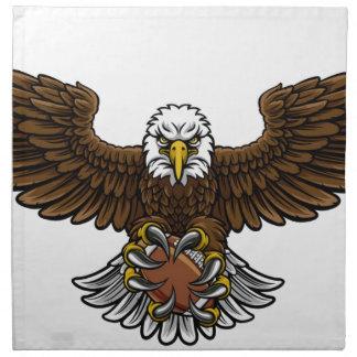 Eagle American Football Sports Mascot Napkin