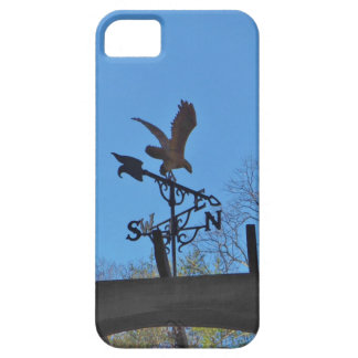 Eagle and Arrow Weather vane blue skys iPhone 5 Case