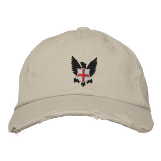 eagle and crest embroidered cap