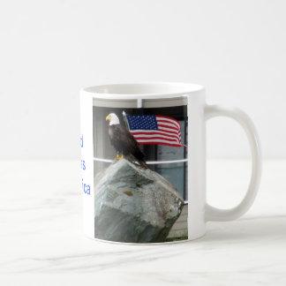 Eagle and Flag Mug