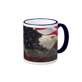 Eagle and Flag Mugs