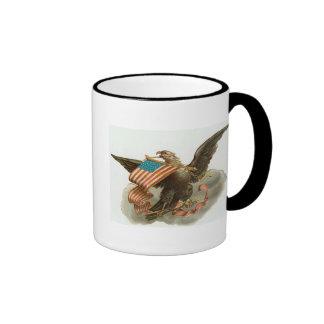Eagle and Flag Coffee Mugs