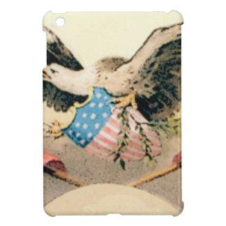 eagle and flags seal iPad mini cover