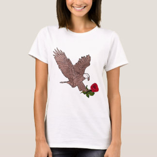 eagle and rose T-Shirt