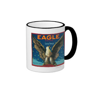 Eagle Apple Crate Label Mugs