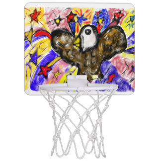 eagle art three mini basketball hoop