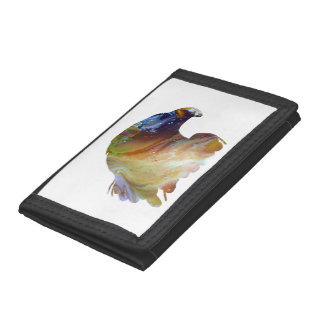 Eagle Art Tri-fold Wallet