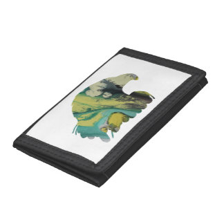 Eagle Art Trifold Wallets