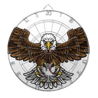 Eagle Baseball Sports Mascot Dartboard