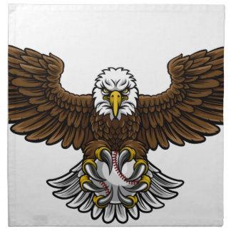 Eagle Baseball Sports Mascot Napkin
