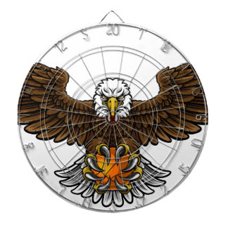 Eagle Basketball Sports Mascot Dartboard