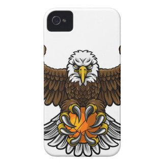Eagle Basketball Sports Mascot iPhone 4 Cover