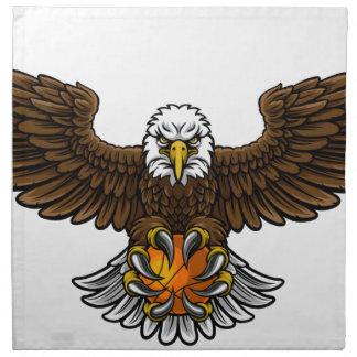 Eagle Basketball Sports Mascot Napkin