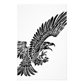 Eagle Bird Swooping Stationery