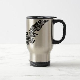 Eagle Bird Swooping Travel Mug