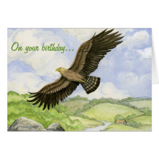 Eagle birthday card