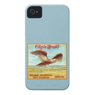 Eagle Brand Fruit Crate Label Case-Mate iPhone 4 Cases