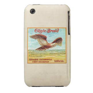 Eagle Brand Fruit Crate Label iPhone 3 Covers