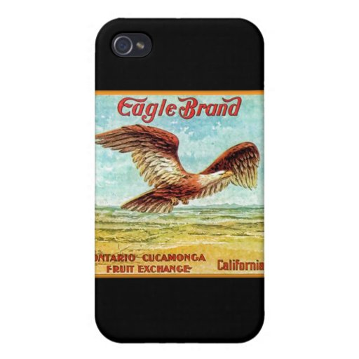 Eagle Brand Fruit Crate Label iPhone 4/4S Cases