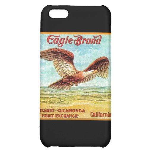 Eagle Brand Fruit Crate Label iPhone 5C Case