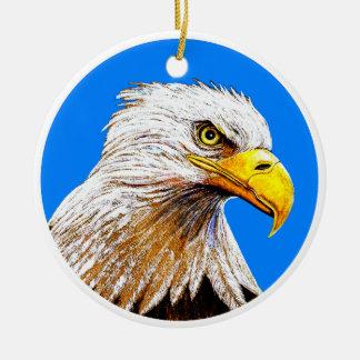 Eagle Ceramic Ornament