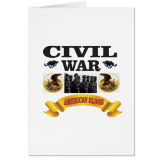 eagle civil war art card