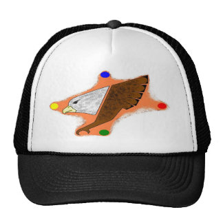 eagle conception trucker hat