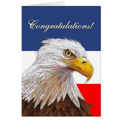 Eagle Congratulations Cards