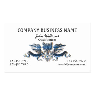 Eagle crest professional masculine pack of standard business cards