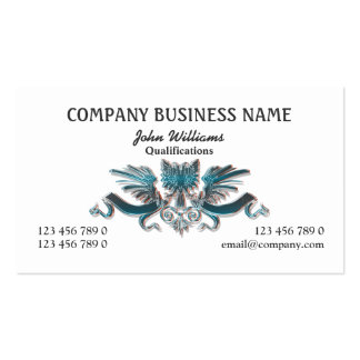 Eagle crest professional masculine PERSONALIZE Pack Of Standard Business Cards