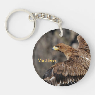 Eagle - Customizable - Achievement - Recognition Key Ring