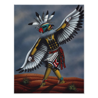 """""""Eagle Dancer"""" Poster"""