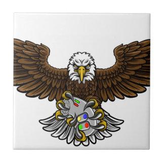 Eagle Esports Sports Gamer Mascot Ceramic Tile