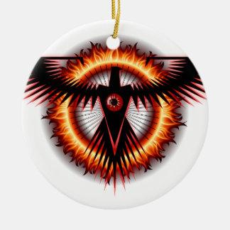 Eagle Eye Christmas Ornament