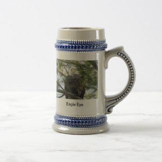 Eagle Eye 18 Oz Beer Stein