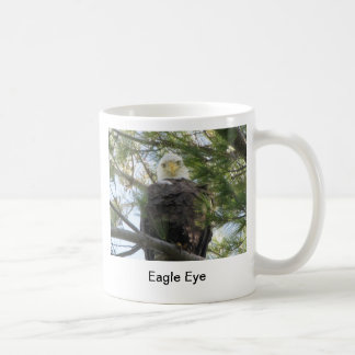 Eagle Eye Classic White Coffee Mug