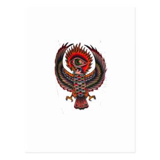 eagle eye postcard