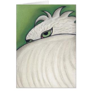 Eagle Eyes  by artist Robyn Feeley Greeting Card