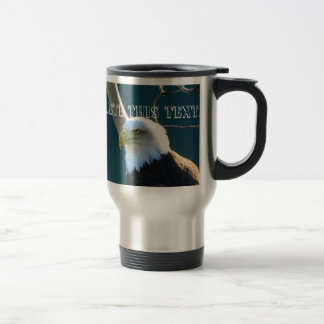 Eagle Eyes; Customizable Coffee Mugs