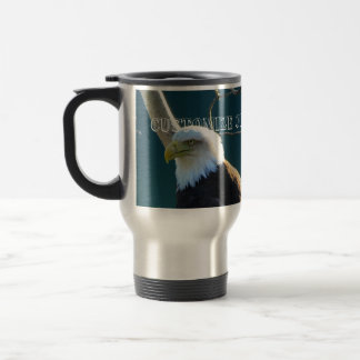 Eagle Eyes; Customizable Travel Mug