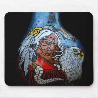 Eagle Eyes Mouse Pad
