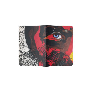 Eagle Face Custom Passport Holder