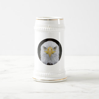 EAGLE FACE TANKARD MUG