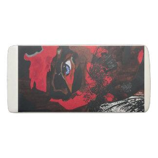 Eagle Face Wedge Eraser