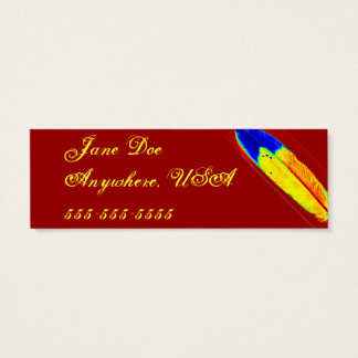 Eagle Feather Mini Business Card