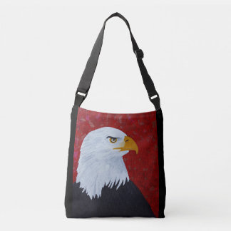 Eagle / Fire In The Sky Crossbody Bag